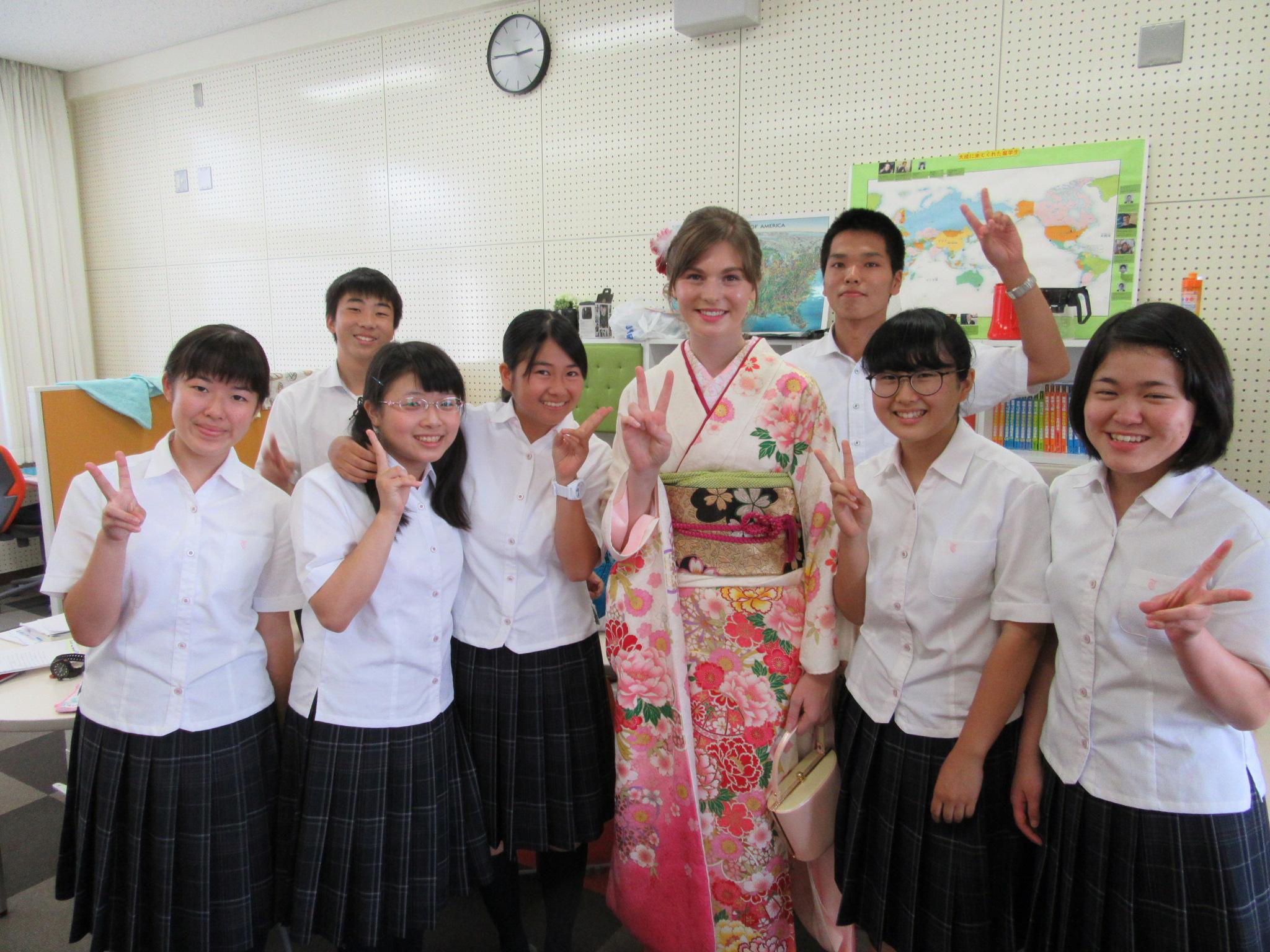 留学生のお別れ会を行いました