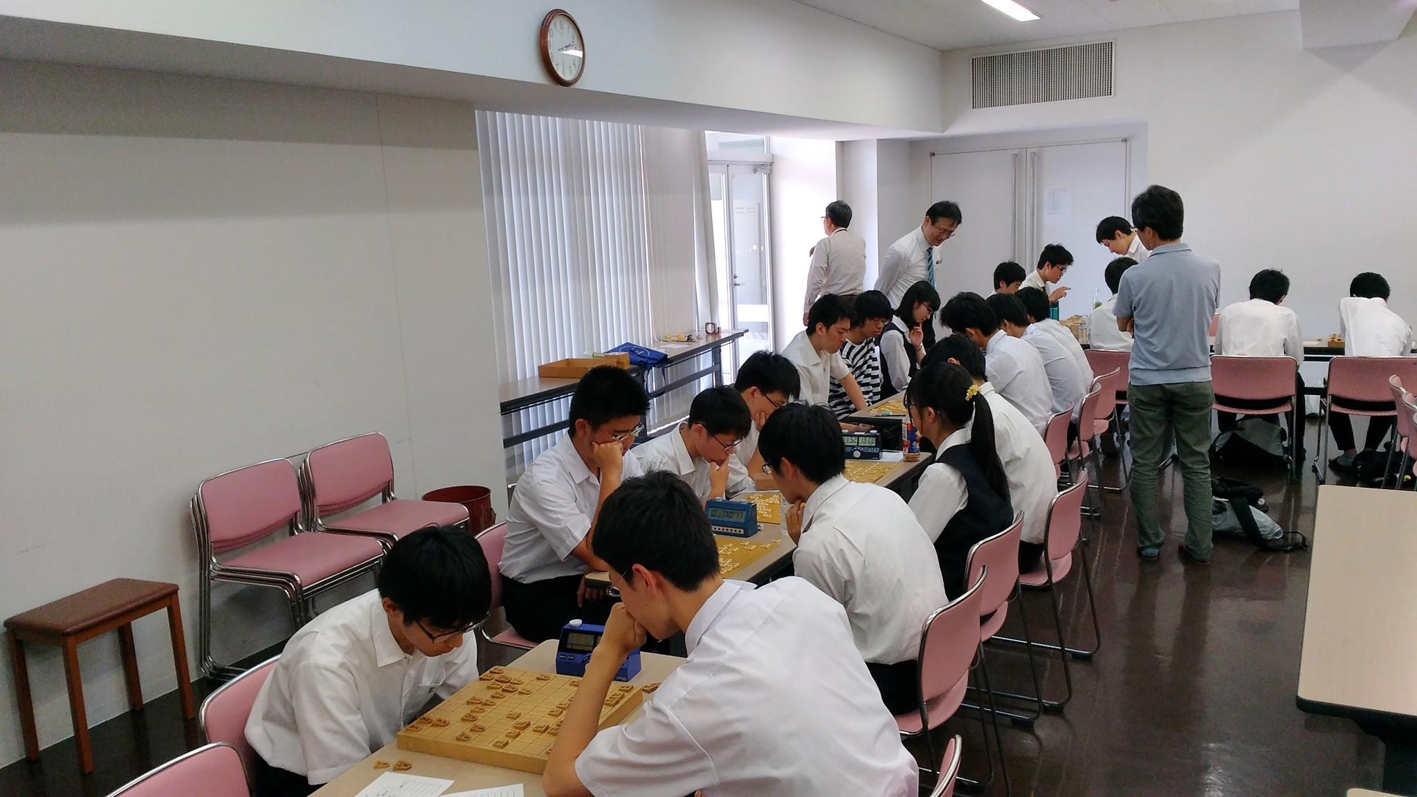 大成将棋同好会が高校将棋研修会に参加しました。