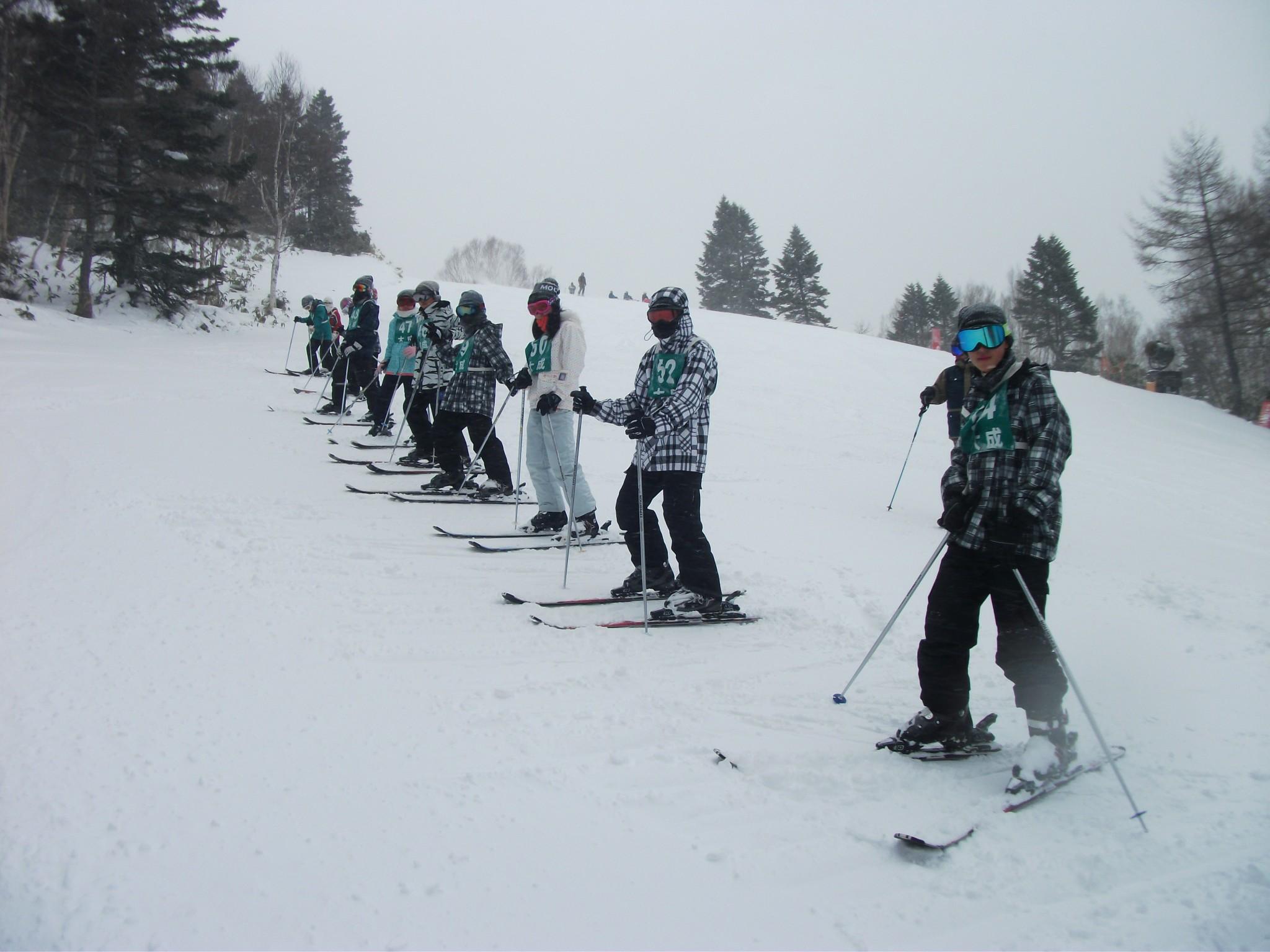 スキー教室2日目