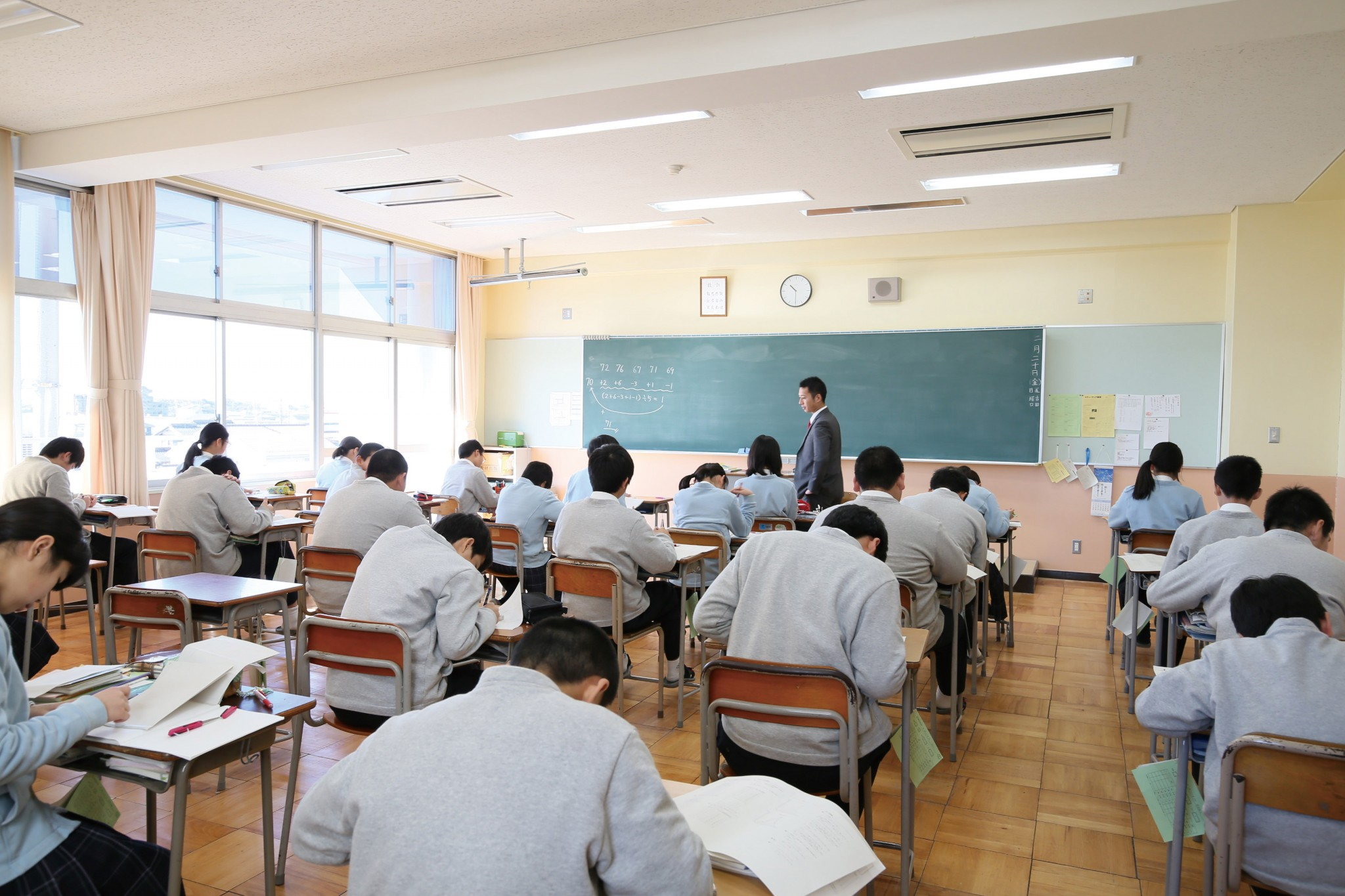 9月12日(土)大成中模試(小学6年生対象)