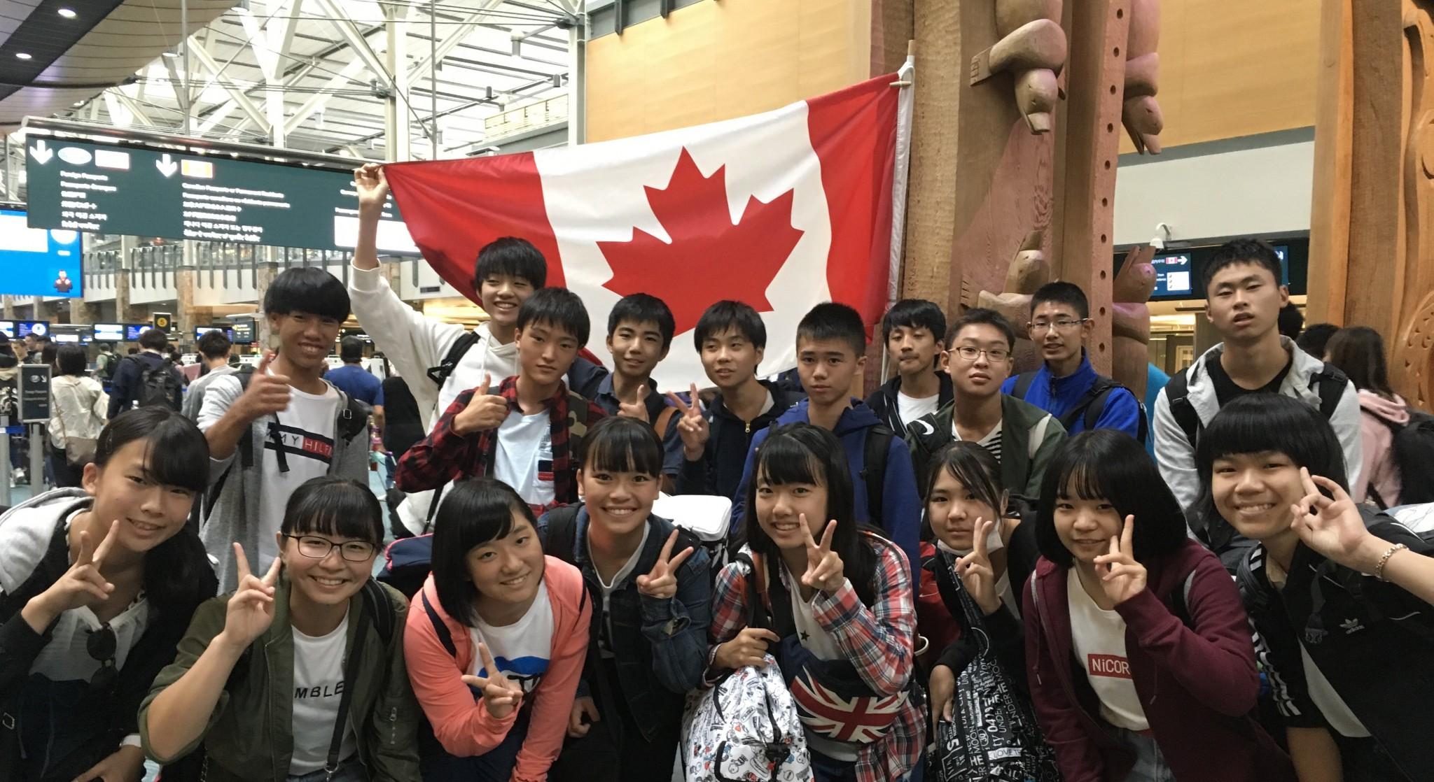 カナダ空港