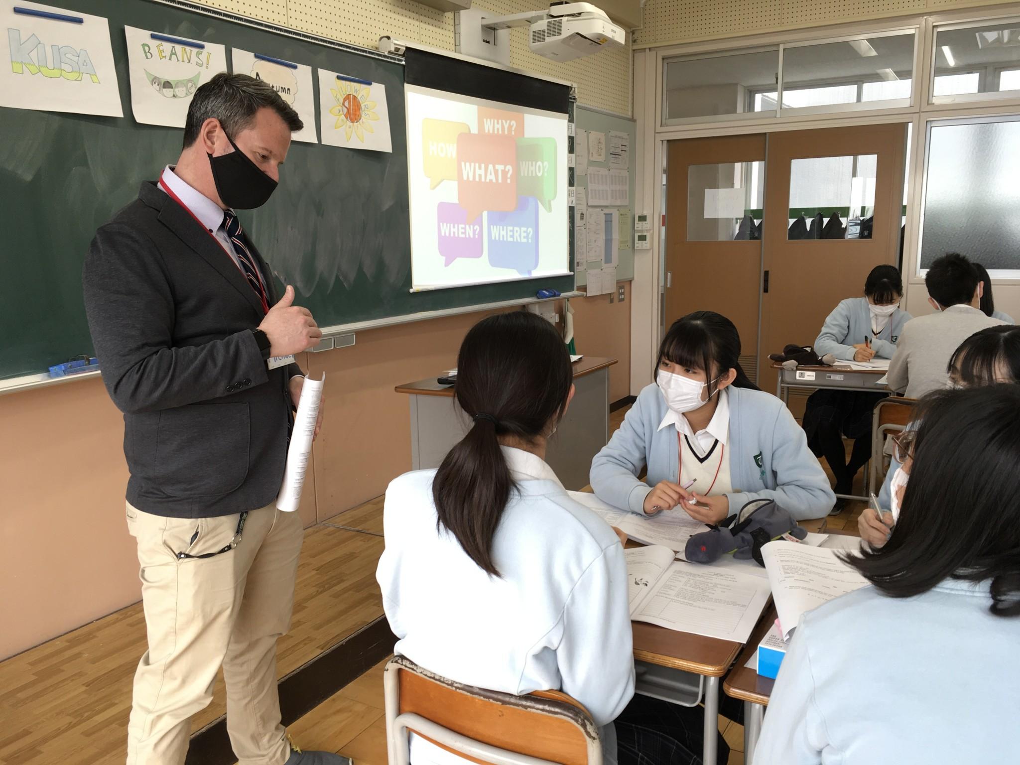 3日目~校内留学「通学型グローバル研修」~